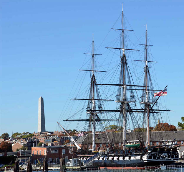 USS Constitution in Boston MASS
