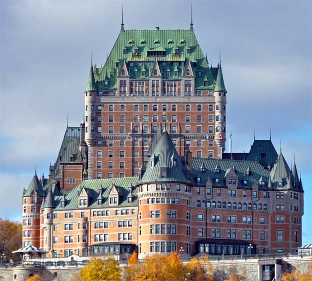 Fairmont Le Chateau Frontenac, the most photographed hotel in the world